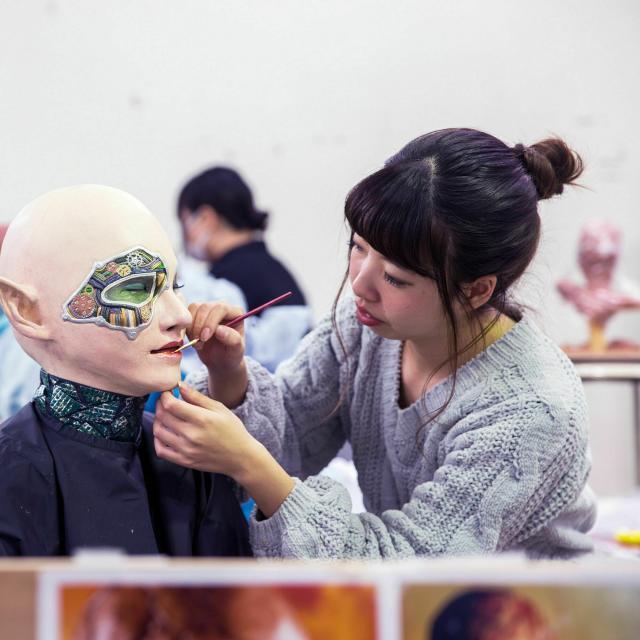 大阪デザイナー専門学校 【特殊メイク学科】AO入学説明会4