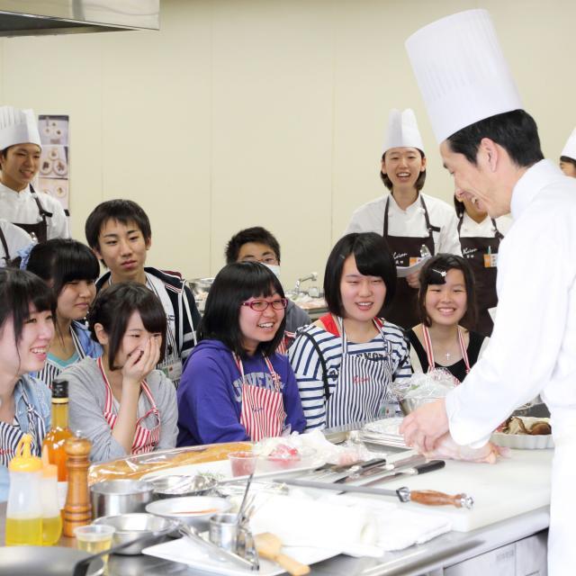 経専調理製菓専門学校 一日たっぷり体験!オープンキャンパス♪1