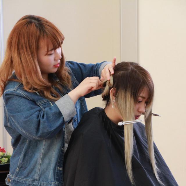 福島県高等理容美容学院 夏季オープンスクール(7月開催)1