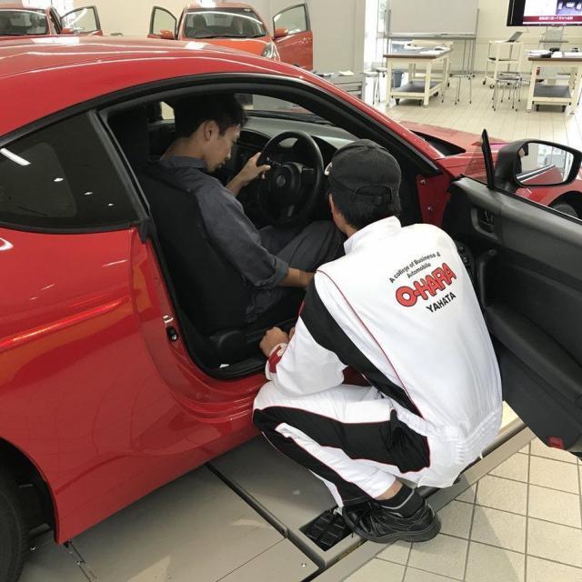 専門学校大原自動車工科大学校 【車好き必見】バギー・自動車の整備体験をしよう!2