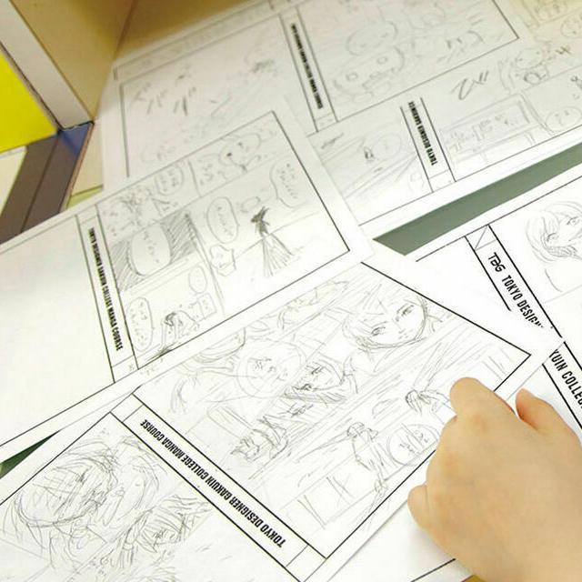 東京デザイナー学院 【マンガストーリー制作入門】ストーリー作りのコツを伝授☆1
