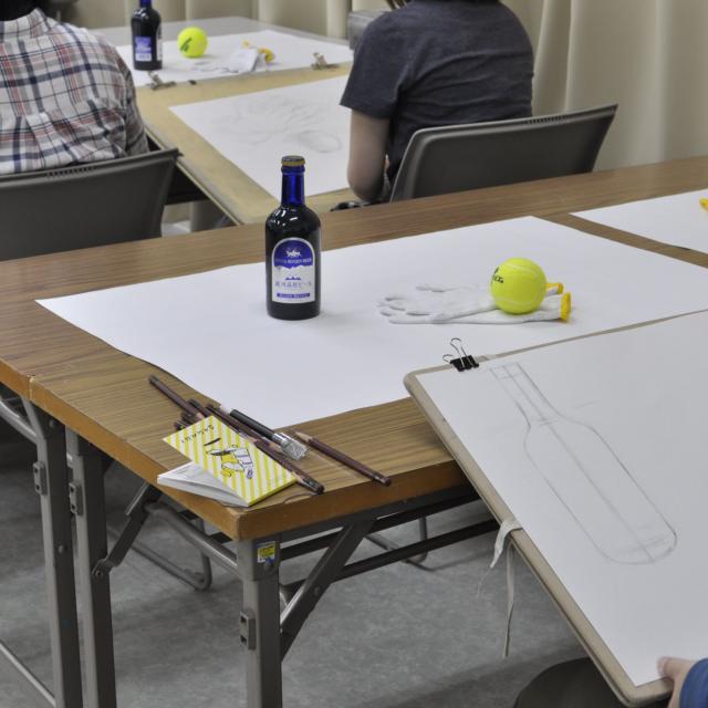 嵯峨美術大学 入試対策実技講習会4