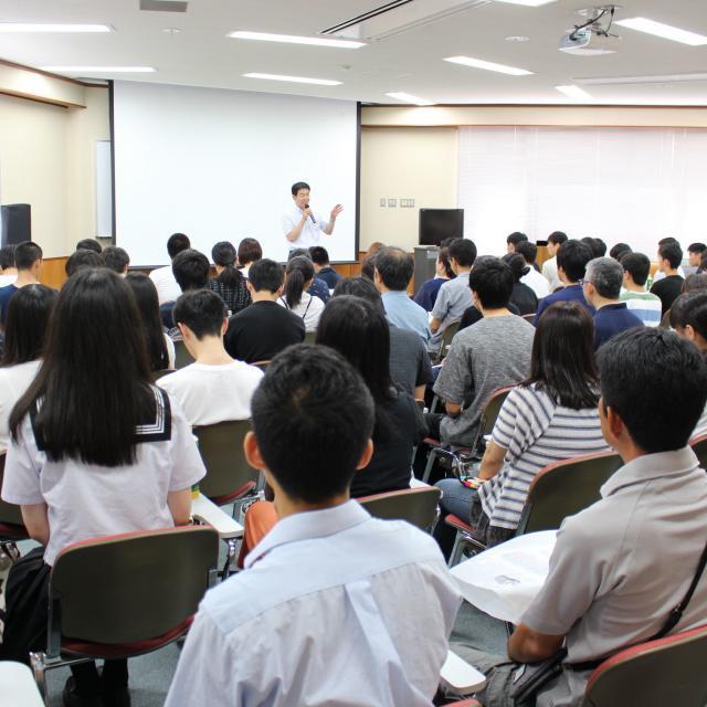 長岡大学 春のミニオープンキャンパス3