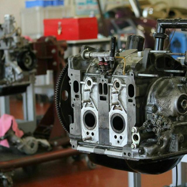 関東工業自動車大学校 【大型車整備体験】本校ならでは!貴重な体験をしよう!2