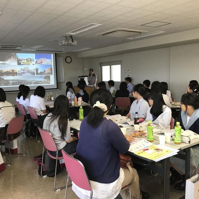 中国学園大学 H30年度 オープンキャンパス 第1弾3