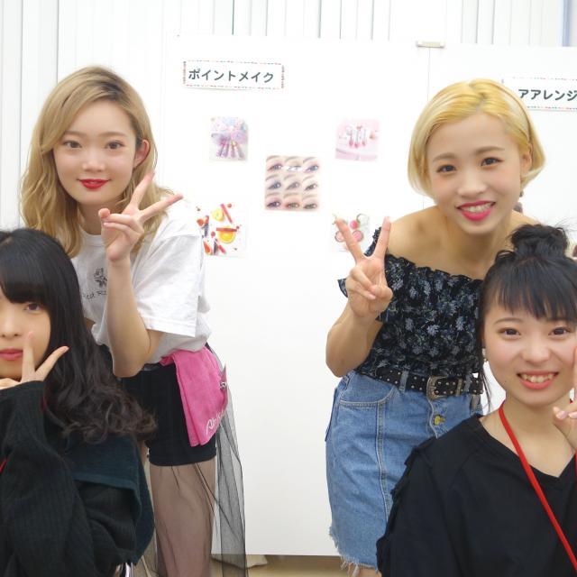 旭美容専門学校 3/24(日) 1年生美容師さんトーク&デモ2