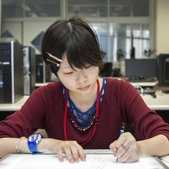 鹿児島キャリアデザイン専門学校 【グラフィック科】アニメーションコース1