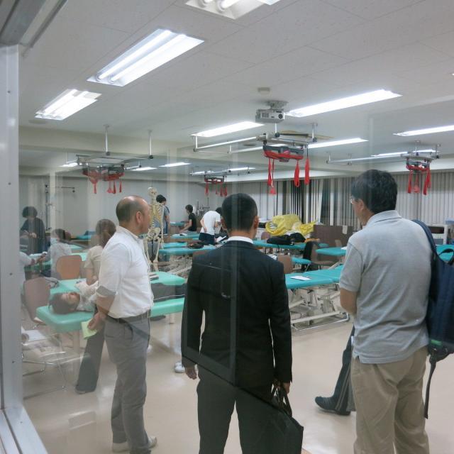 関東リハビリテーション専門学校 作業療法学科夜間見学会2