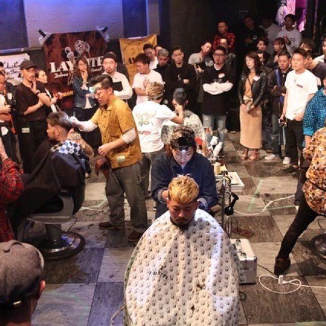 SENDAI中央理容美容専門学校 【理容科スペシャルデー】BARBER BATTLE開催!!3