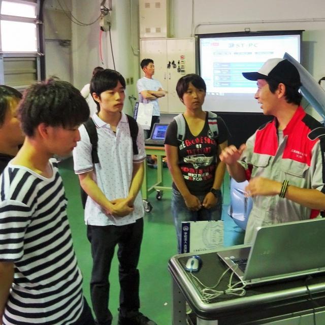 専門学校 広島自動車大学校 オープンキャンパス4