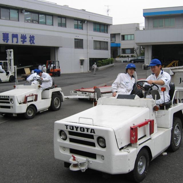 試運転体験会(トーイングトラクター)