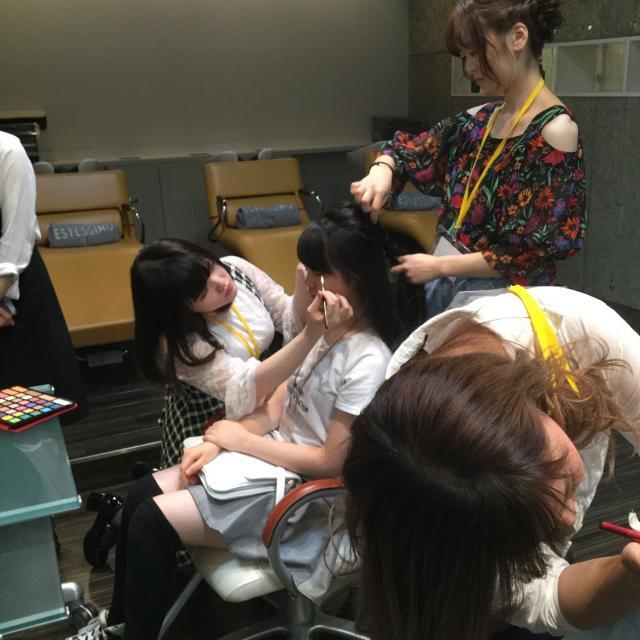 タカラ美容専門学校 スチューデントサロンで美容体験☆タカラフェス2