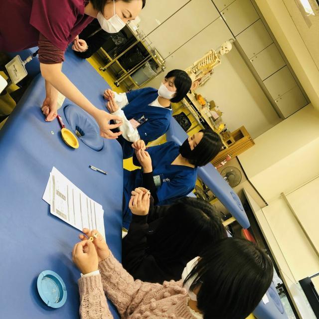 神戸医療福祉専門学校中央校 【鍼灸科】オープンキャンパス☆ハロウィンスペシャル3