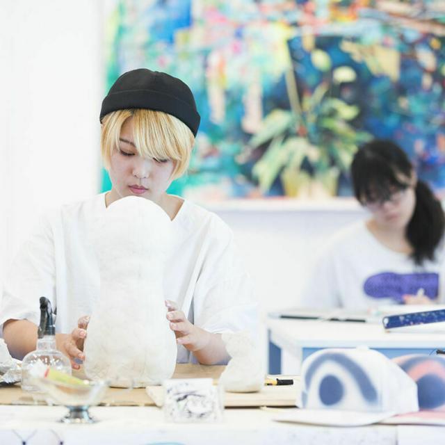 嵯峨美術短期大学 体験入学1