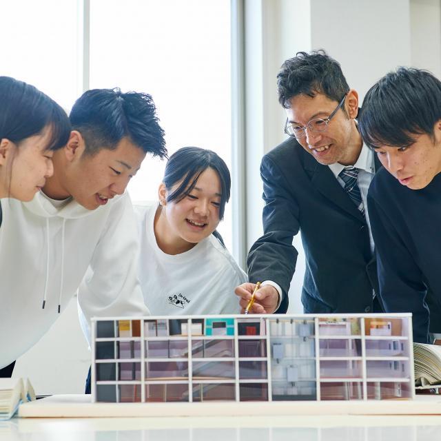 日本工科大学校 【建築コース】環境建設工学科2