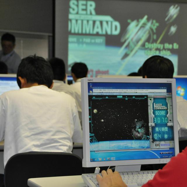 広島情報専門学校 来校型【ゲーム】あの有名な作品もUnityで作られている?3