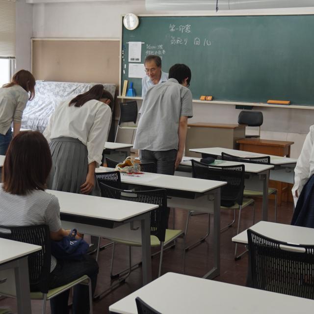 草苑保育専門学校 入試説明会~入試(面接試験)の不安を解消しよう~1