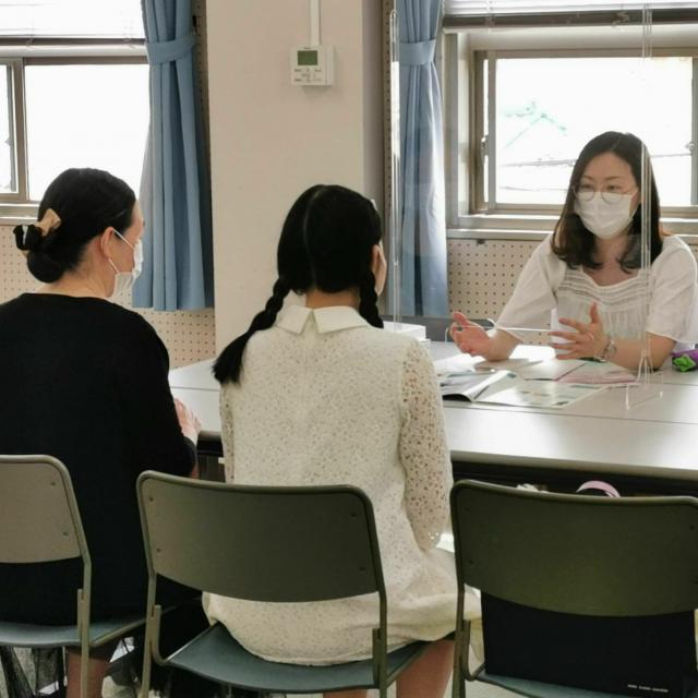 神戸海星女子学院大学 【英語観光学科】個別相談型オープンキャンパス3