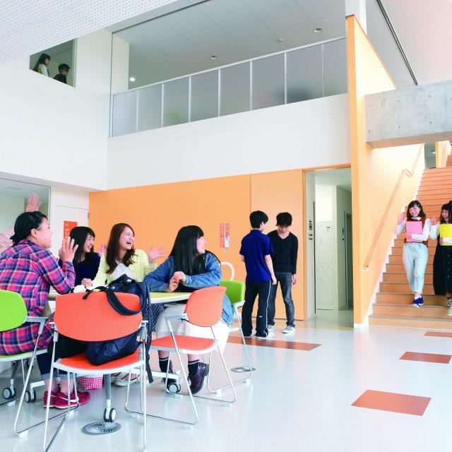 新潟中央短期大学 これまで以上に広く充実したキャンパスを見に行こう!1