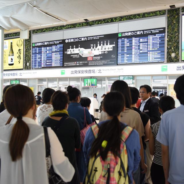 西鉄国際ビジネスカレッジ JAL特集!福岡空港編。JALファン必見のプログラム!3