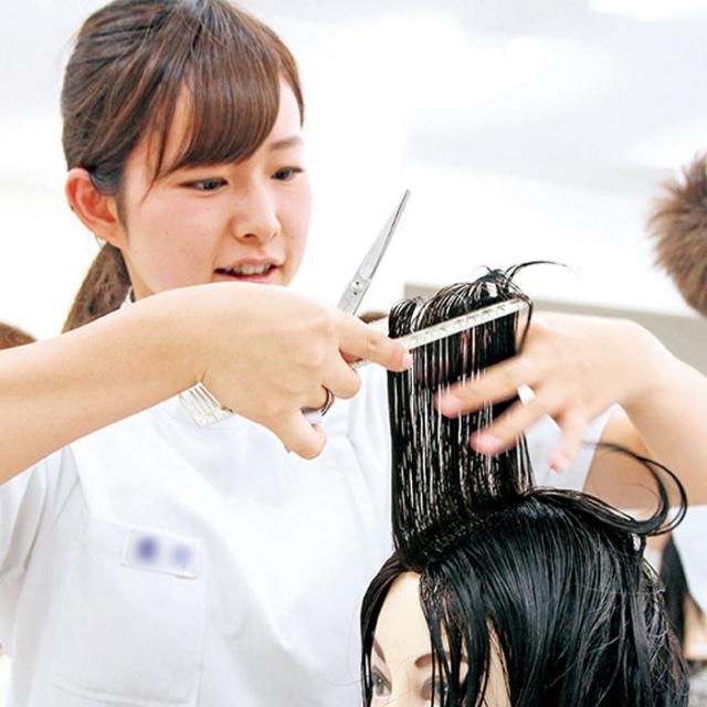 専門学校岡山ビューティモード 高校2・1年生対象OBMワークショップ「コース体験会」2