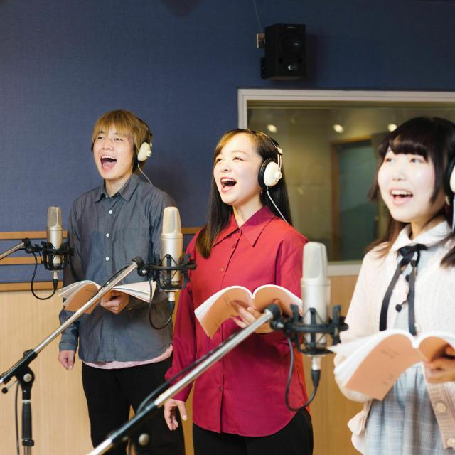 尚美ミュージックカレッジ専門学校 【声優学科】現役声優が直接指導!声の演技の基礎レッスン1