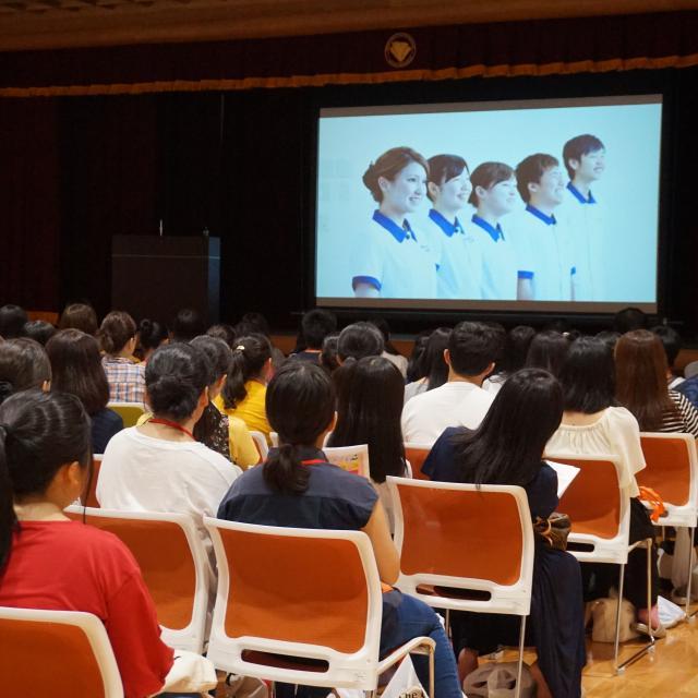 京都看護大学 オープンキャンパス1