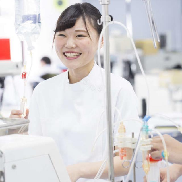 東京医薬専門学校 臨床工学技士を目指すあなたへ*現場で扱う医療機器に触れよう!2