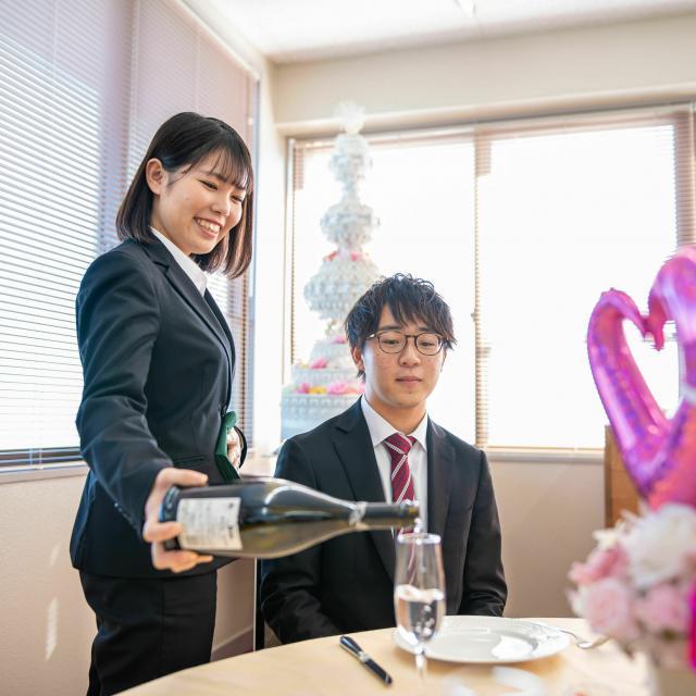 水戸経理専門学校 【ブライダル学科】ブライダル・ホテルのお仕事体験♪2