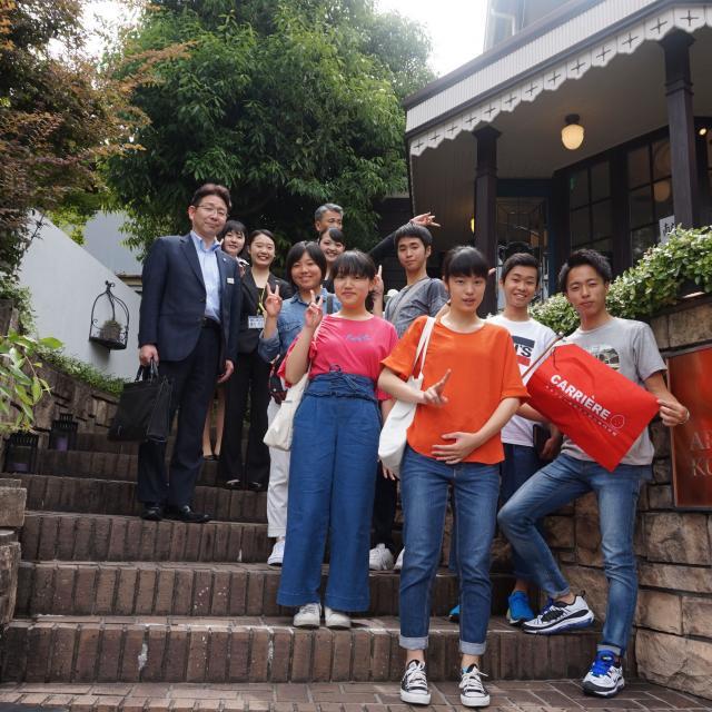 キャリエールホテル旅行専門学校 京都の観光地を散策しよう★旅行・観光フェスタ2