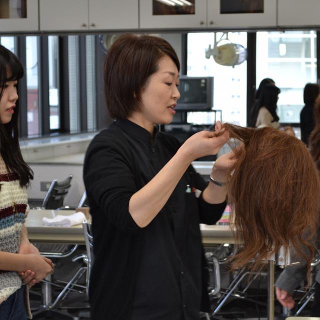 北海道理容美容専門学校 オープンキャンパス2