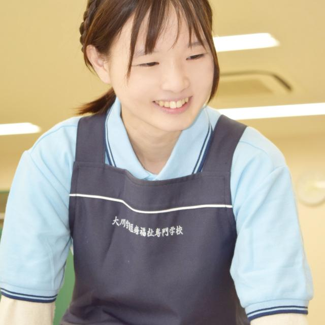 大川学園医療福祉専門学校 介護福祉学科の模擬授業を受けてみよう!1