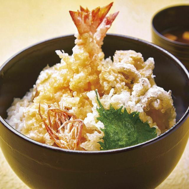 辻調理師専門学校 サックサクの天ぷらを体験♪ 「天ぷら丼」1
