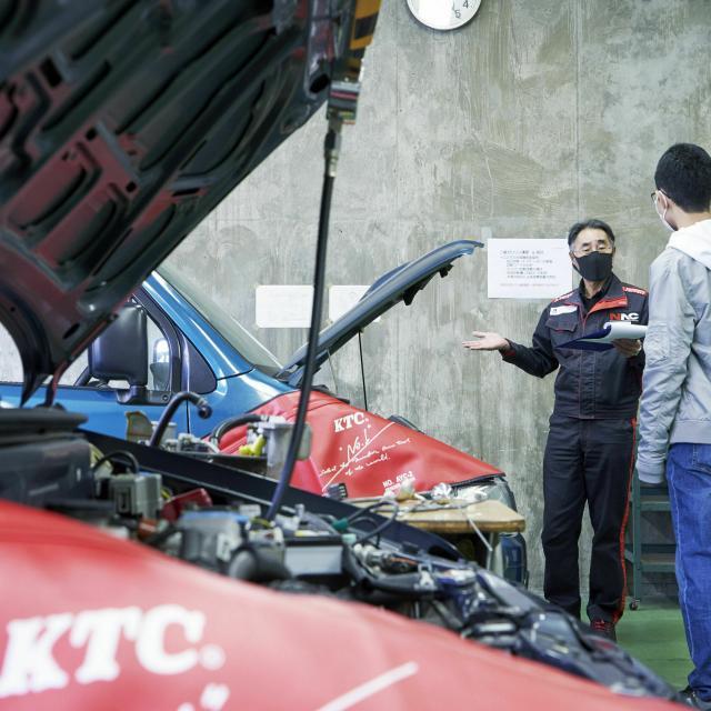 中日本自動車短期大学 自動車好き集まれ!NACのことを知ろう!3