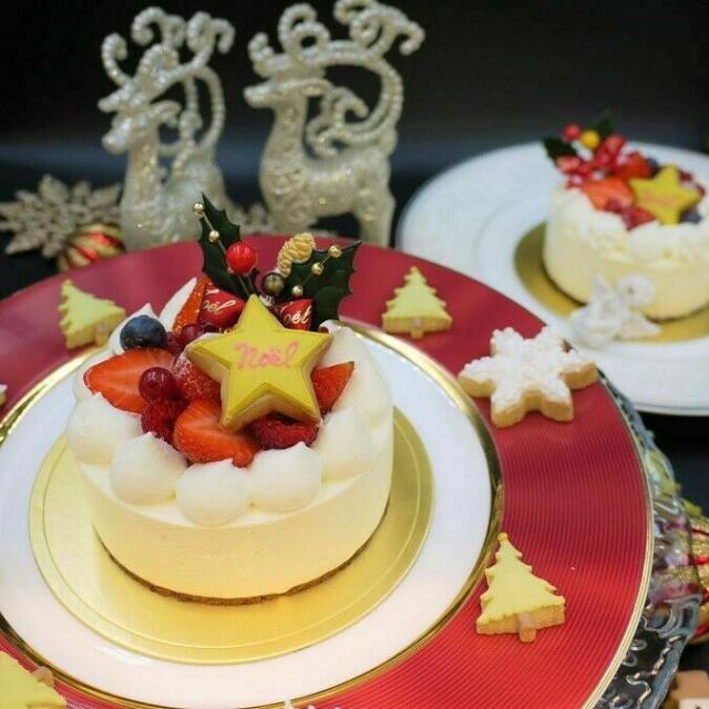 東京調理製菓専門学校 クリスマス デコレーションケーキ1