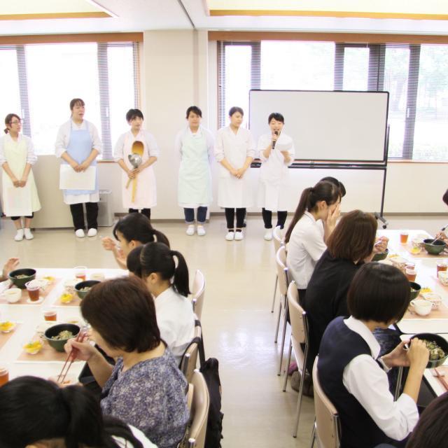 くらしき作陽大学 【食文化学部】オープンキャンパス20194