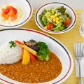 給食実習「学校給食のカレー」