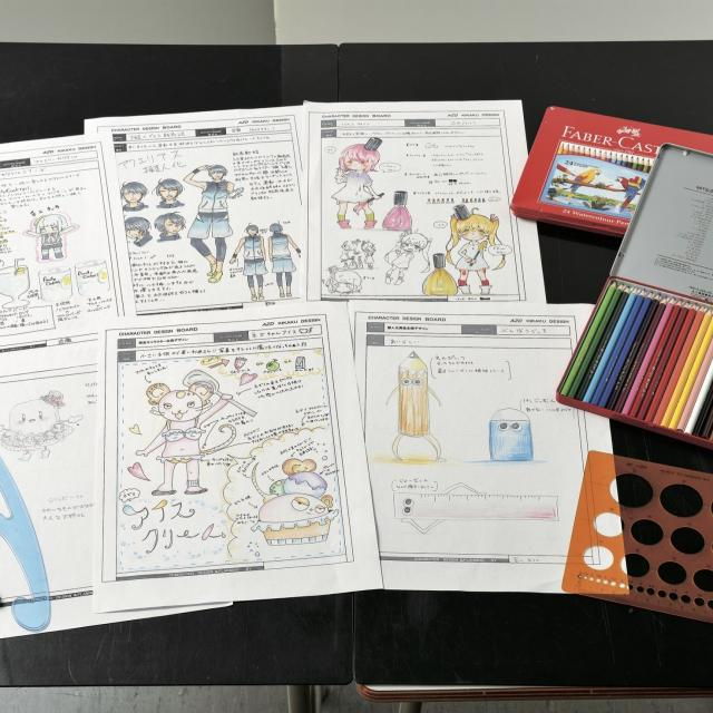 あいち造形デザイン専門学校 C:企画デザインコース<イメージキャラクター企画デザイン>1