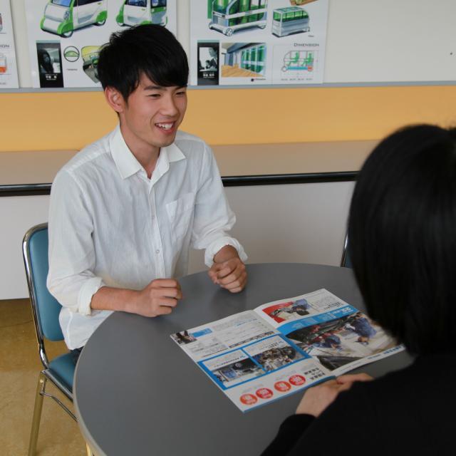 専門学校 新潟国際自動車大学校 AO面談オープンキャンパス1