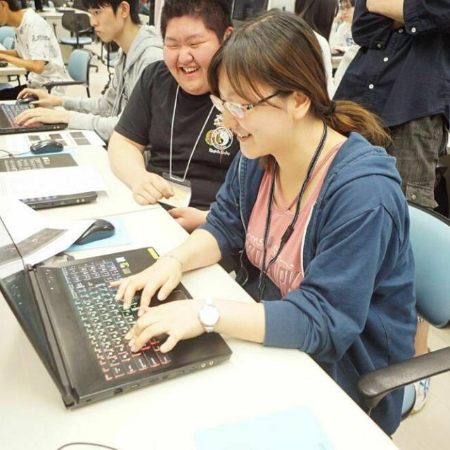 吉田学園情報ビジネス専門学校 【ゲーム学科】オープンキャンパス3