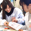YICキャリアデザイン専門学校 「お菓子を使って処方せん♪」医療事務科
