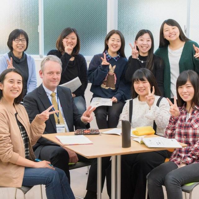 東北外語観光専門学校 オープンキャンパス(外語とキャスウェルの合同開催)1
