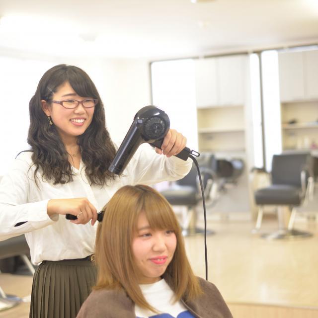 IBW美容専門学校 乾燥に負けない!潤いエステ体験&カットの基本を知ろう☆3
