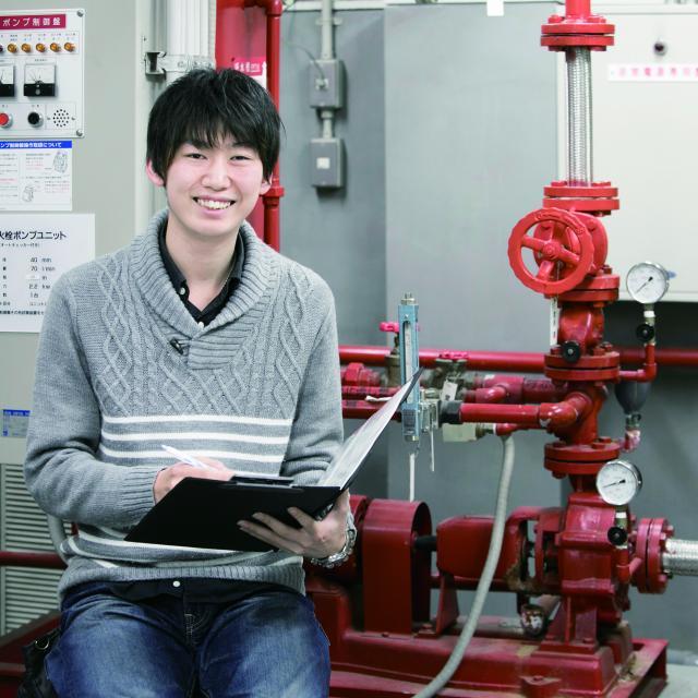 中央工学校 2018体験入学☆建築設備実験の体験をしよう!2