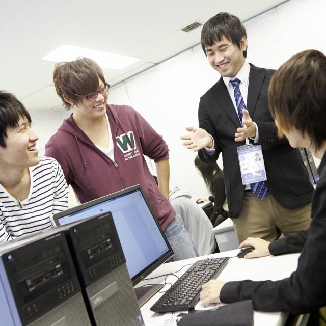 名古屋スクール・オブ・ビジネス ITビジネス学科【12月体験】人気のIT業界を楽しく体験!1