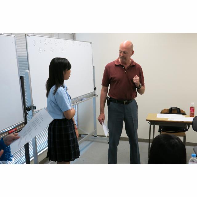 グレッグ外語専門学校横浜校 オープンキャンパス1