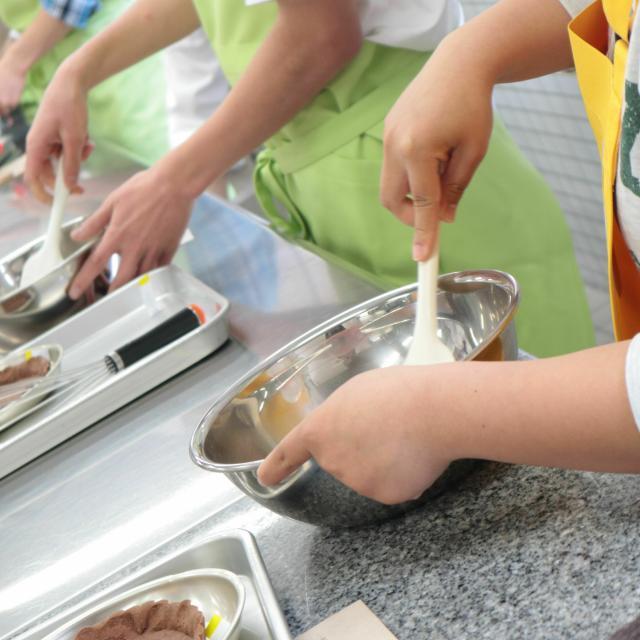 神戸国際調理製菓専門学校 【製菓】とっても可愛い♪くまシュー2