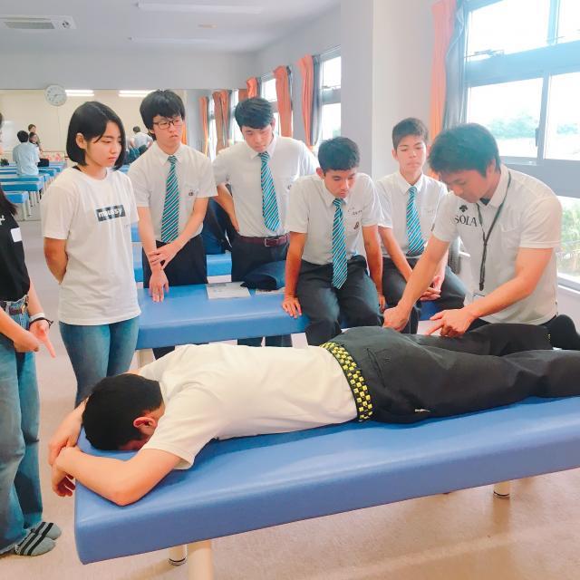 SOLA沖縄保健医療工学院 スポーツ整体・メディカルトレーナー学科「手に職を付ける」2