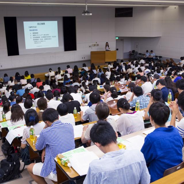 神田外語大学 オープンキャンパス3