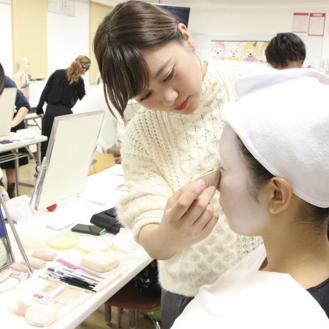 日本美容専門学校 2019 体験入学 【総合美容科】2